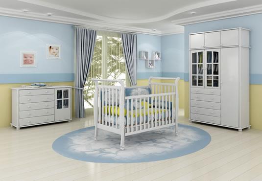 Decoração quarto bebê, espaço de ternura e amor