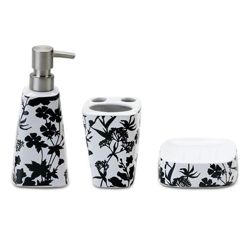 Kit De Banheiro Preto E Branco : Acess?rios para banheiro dicas valorizar o ambiente