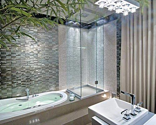 Banheira De Hidromassagem  Fotos, Tipos E Modelos  Wdicas  Wdicas -> Tamanho Mínimo De Banheiro Com Banheira