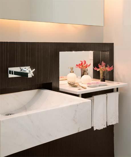 ideias decoracao lavabo:Ideias De Banheiro E Lavabo Para Surpreender As Visitas – Wdicas