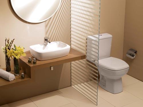 Ideias De Banheiro E Lavabo Para Surpreender As Visitas  Wdicas  Wdicas -> Altura De Pia De Banheiro Com Cuba Sobreposta