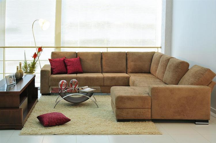 Sala De Tv Com Um Sofa ~ Deixe sua sala mais moderna e confortável, ao decidir por trocar o