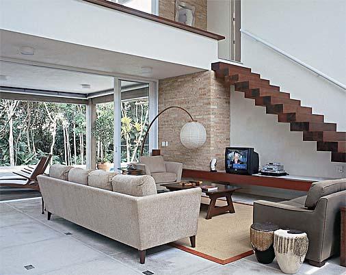 Sala De Estar Junto Con Sala De Tv ~ mezanino modelo para sala de estar