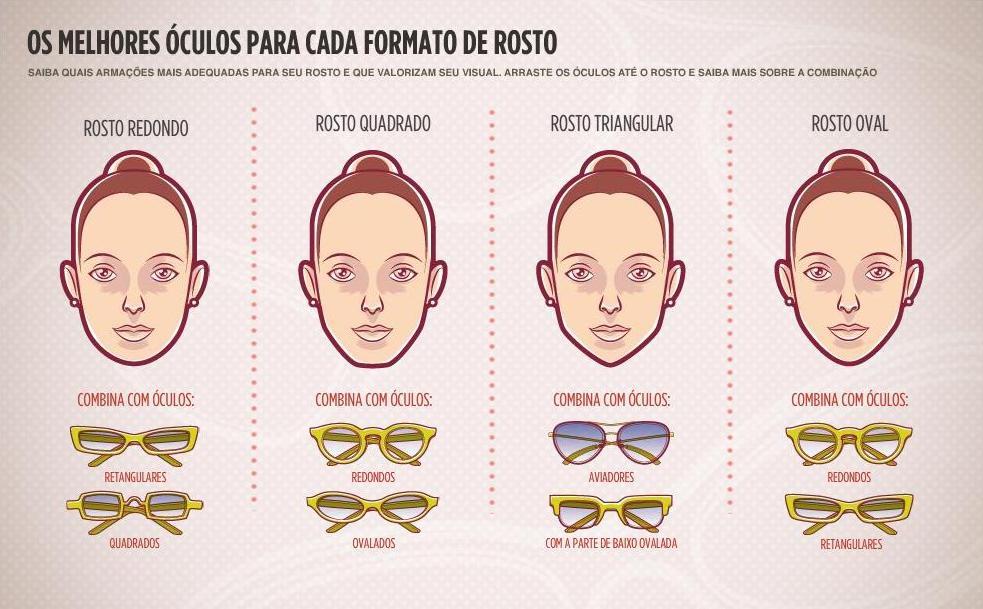 272f2ccb9 Óculos Para Cada Tipo De Rosto - Wdicas | Wdicas