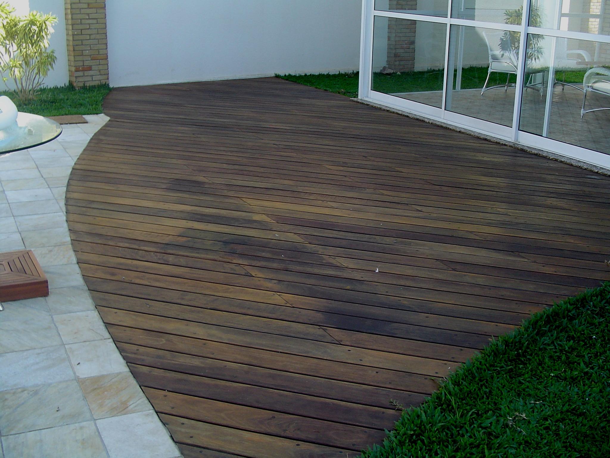 jardim deck de madeira:Deck De Madeira Para Jardim – Wdicas