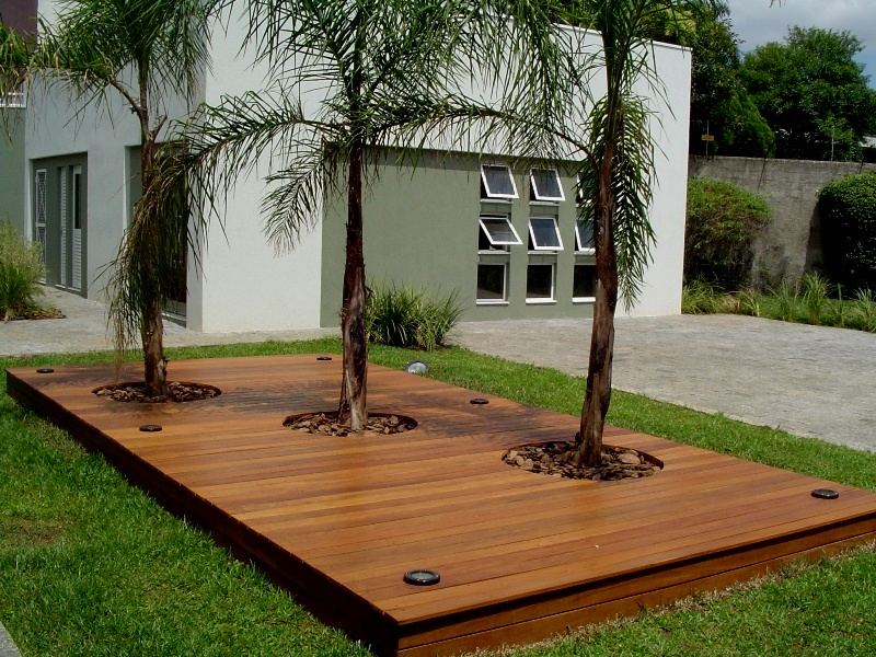 jardim deck de madeira:Madeira De Deck Para Jardim