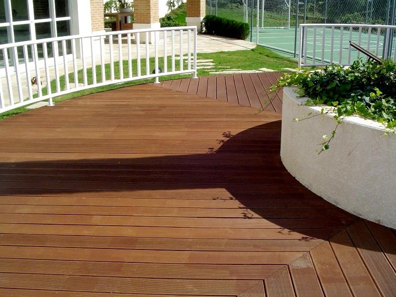jardim deck de madeira:Deck De Madeira Para Jardim De Inverno 4 Pictures to pin on Pinterest