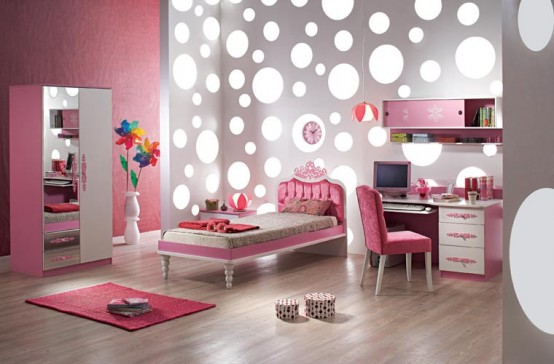 Cool Pink Bedroom Ideas for Girls