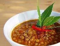 Sopa de Lentilha com Pimenta – Delícia
