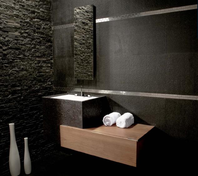 Favoritos Banheiro Com Pedra Natural - Wdicas | Wdicas LE78