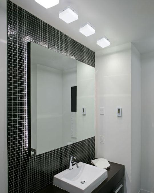 Banheiros Decorados Com Pastilhas  Wdicas  Wdicas -> Banheiros Com Pastilhas Escuras