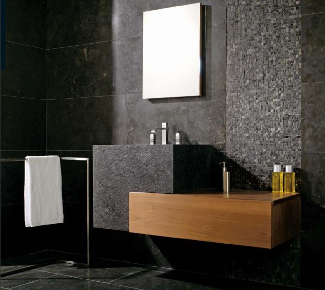 Excepcional Banheiro Com Pedra Natural - Wdicas | Wdicas AO78