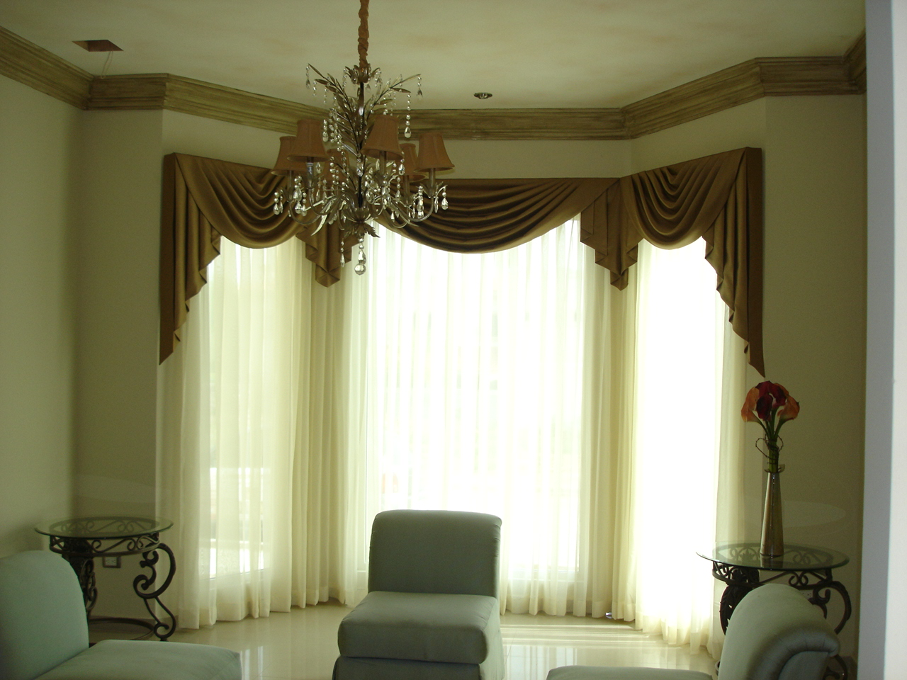 Cortinas de luxo para sala