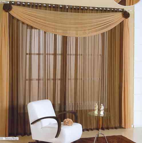 Cortinas de luxo para sala modelos wdicas wdicas for Modelos de salas modernas