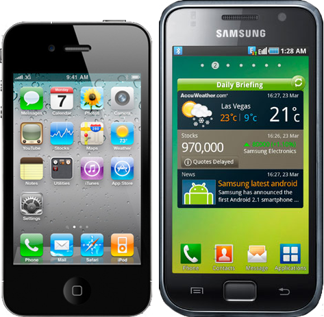 Samsung Galaxy S2 ou iPhone 4? | Wdicas