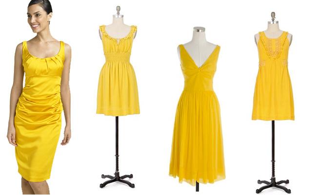 vestidos amarelo para o reveillon