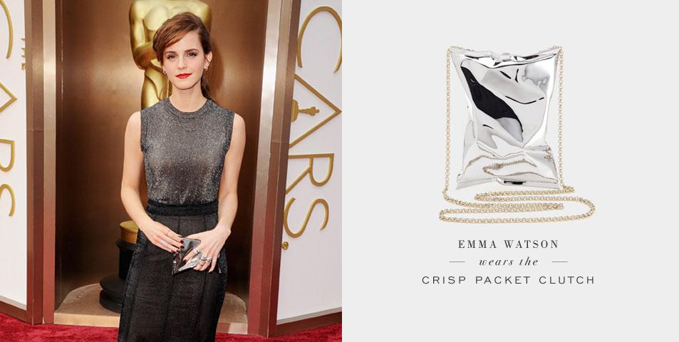 Emma-Watson bolsa Crisp-Packet