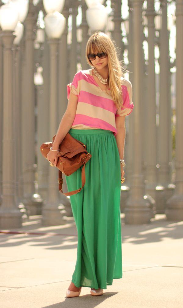 moda saia longa