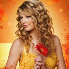 Taylor Swift na cozinha