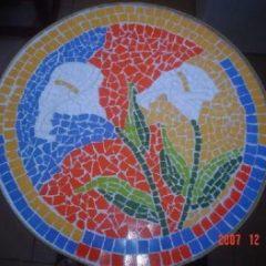 Decoração de ambientes com Mosaico