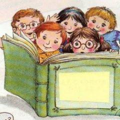 O bom hábito da leitura com os filhos