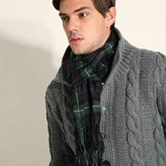 Homem Moderno Estílo De Vestir-se No Inverno