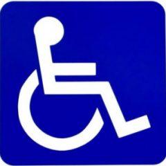 Victoria Beckham viola direito garantido a portadores de necessidades especiais