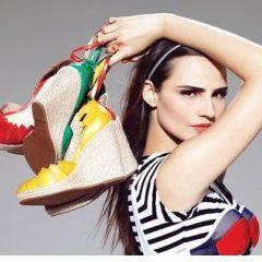 Os Mais Belos Sapatos Saltos Anabela 2012