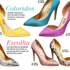 Scarpins 2012 – Na onda Color Blocking