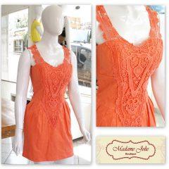 Vestidos De Renda Moda Primavera/Verão