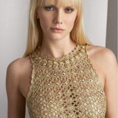 Vestido de Crochê E Tricô