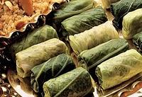 Receita Vegetariana de Rolinho a Moda Síria